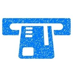 Ticket Terminal Grainy Texture Icon vector image