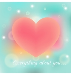 Everything poster vector image vector image