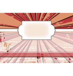 vintage frame for a web site with the rays in the vector image