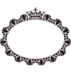 Royal frame vector