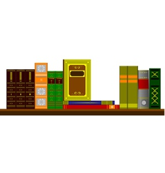 6206 bookshelf vector