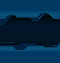 blue abstract tech background vector image