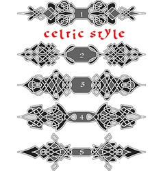 Celtic style2 vector