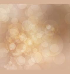 festive background with defocused lights vector image