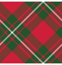 Macgregor tartan kilt fabric textile diagonal vector image