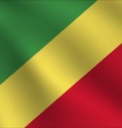 Republic of the congo flag vector