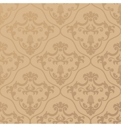 Seamless classic design wallpaper vector image