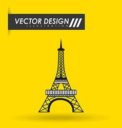 European monument design vector image vector image