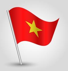 flag vietnam vector image