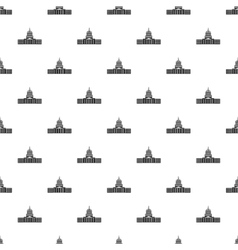 Capitol pattern simple style vector