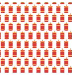 festive firework seamless pattern pyrotechnics vector image