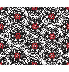 Floral oriental seamless ornament ornamental tile vector