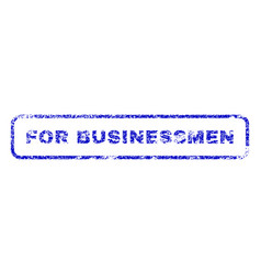 For businessmen rubber stamp vector