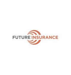 Future insurance financial advisory logo vector