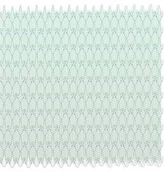 Guilloche design for background certificate vector
