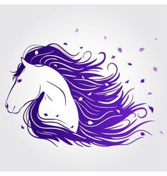 Horse beautiful vector