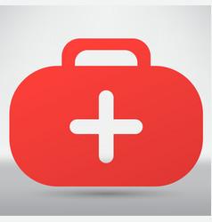 medicine chest icon vector image