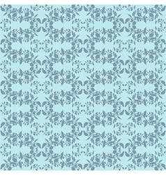 Neutral blue plant wallpaper vector image