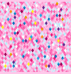 pink grid mosaic background abstract texture vector image