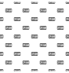 Portable video game console pattern simple style vector image