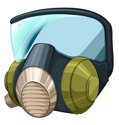 Self-contained breathing apparatus vector image