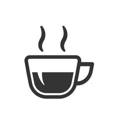 tea break icon vector image
