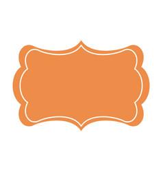 board decoration ornament template image vector image