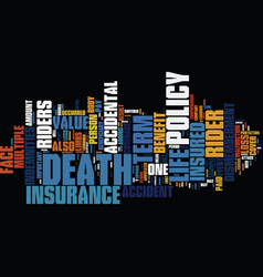 term life insurance vs bank mortgage insurance vector image