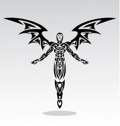 Angels Tribal vector image