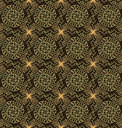 Background pattern of vines vector