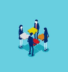 Business teamwork concept business vector