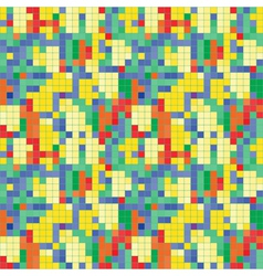 Colorful rhombus frames abstract seamless pattern vector