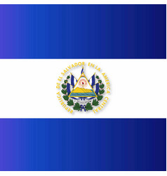 el salvador independence day greeting card vector image
