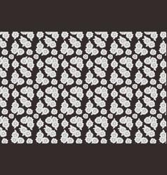 full motif flower vector image