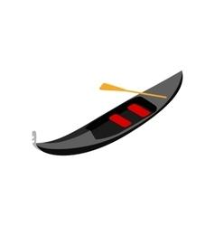 Gondola icon isometric 3d style vector