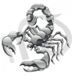 Scorpio star sign vector image