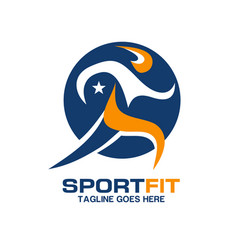 sport fit fresh healthy vector image