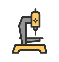 Drilling machine vector
