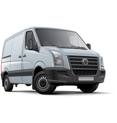 european panel van vector image