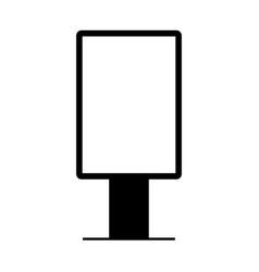 light box sign on white background vector image
