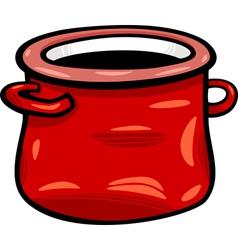 pot or jar cartoon clip art vector image