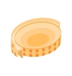 Roman Colosseum icon isometric 3d style vector image