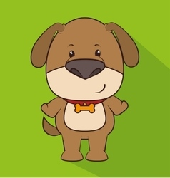 Animal cartoon graphic design vector