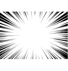 black-white contrast background rays arranged vector image