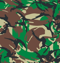 british army modern camouflage vector image