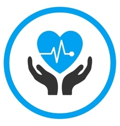 Cardiology Care Icon vector