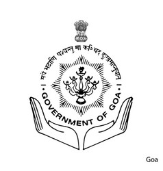 Coat arms goa is a indian region emblem vector