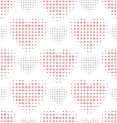 Color love seamless pattern vector image