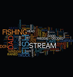 fish just don t care text background word cloud vector image