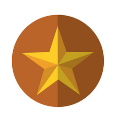 Little star decorative icon vector
